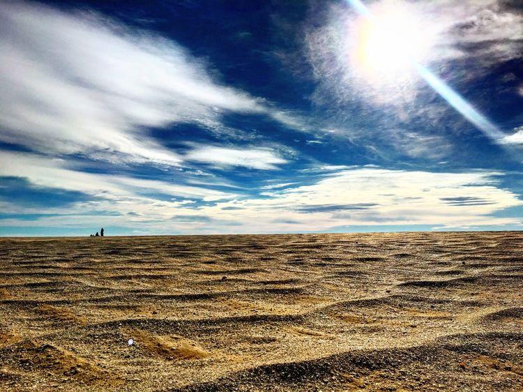 Sky Sand Cloud - Sky Scenics Desert
