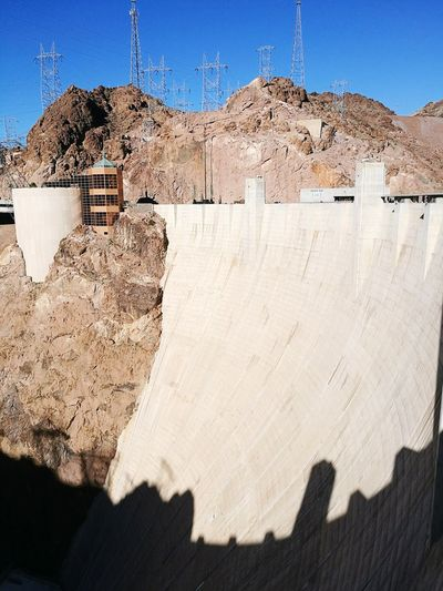 Hoover dam EyeEm Selects Outdoors Shadow Day Desert No People Sand Sunlight Landscape