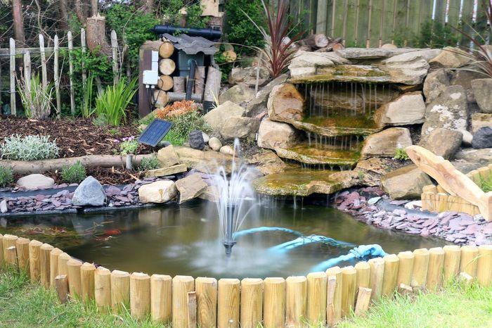 Water Outdoors Day No People Nature Garden Pond Garden Photography Garden Decor Fountain Garden Fountain Gardening