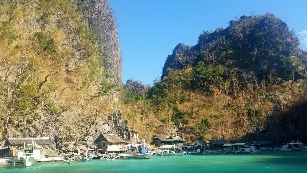 Island life Landscape Natures Beauty Beach Mountain Summer Coron, Palawan Best Of April Crystal Clear Waters