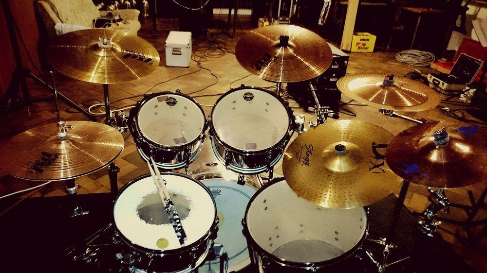 Drums DrummerGirl Drumming Drumkit Tama Drumset EyeEm Best Shots EyeEm Gallery Open Edit Badass