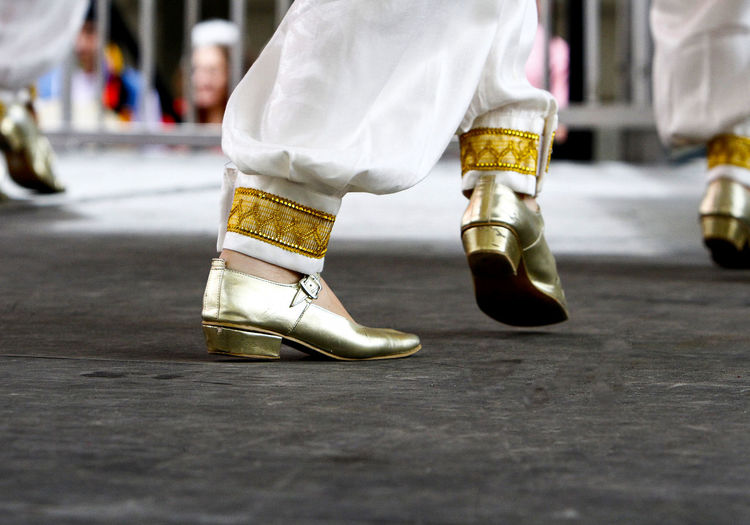 Stepping out Folk Life Festival Turkish Dancers Clogs Close-up Dance Steps Dancers Gold Colored Human Body Part Human Leg Lifestyles Low Section Men People Real People Shoes Traditional Traditional Clothing Turkish Women
