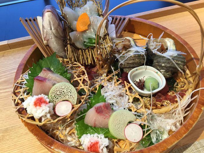 sashimi. otukuri First Eyeem Photo