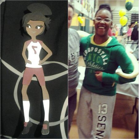 TransformationTuesday Cartoon Me! Collegelife