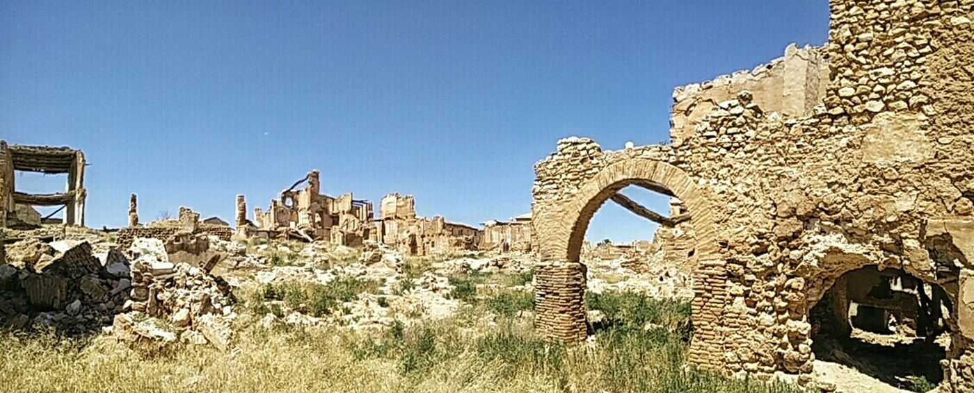 Ruins Belchite Panorama