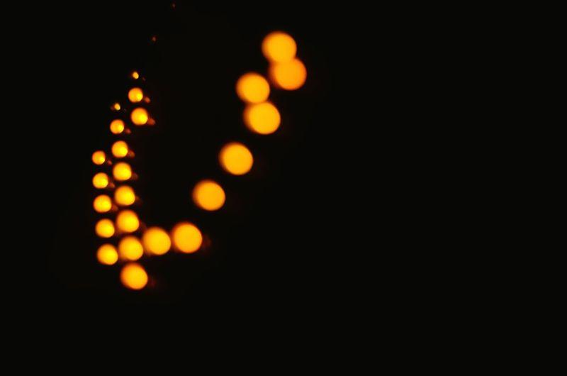 Illuminated Black Background Technology Night Lighting Equipment Dark Orange Color Light - Natural Phenomenon EyeEmNewHere City Light EyeEm Gallery Kharkiv Ukraine EyeEm Best Shots High Angle View Lightbokeh Travel Destinations Electricity