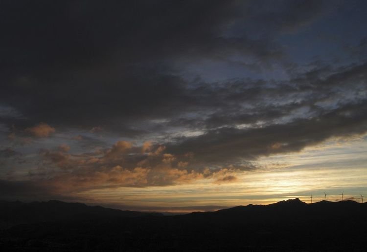 Landscapes. Sky