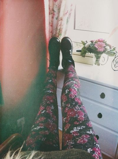 Leggings Flowers Colorful