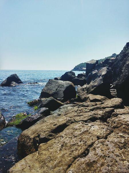 Terra mia!! Starkphoto Mare Sea Scogliera Roccialavica Sicily Beach Landscape Paradiso Terrestre Acqua Limpida Estate2016 Ferie Vacances The Great Outdoors - 2017 EyeEm Awards Perspectives On Nature Go Higher Summer Exploratorium