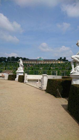 Schloss Sanssouci war sehr schön!!!