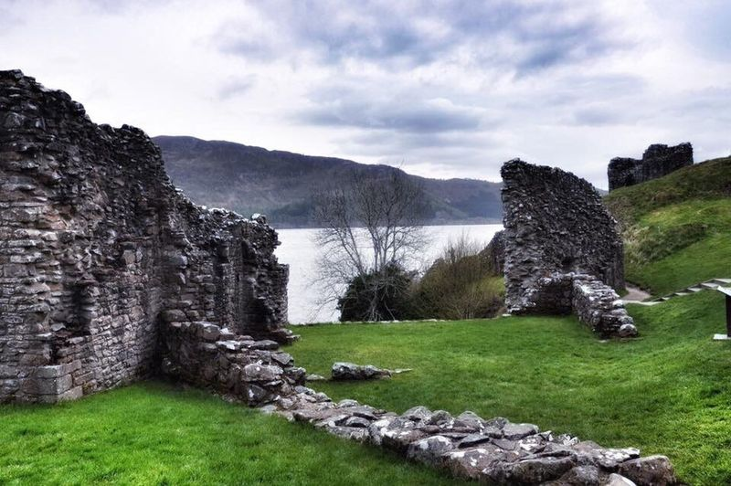 Scotland memories. Loch Ness and UrquhartCastle ❤️🌸 Scotland Lochness Landscape Cloud Water Nature Tranquil Scene Sky Cloud - Sky Tranquility Scenics Seaside Horizon Over Water Sea And Sky Landscape_photography Landscape_Collection Nikon Beautiful Nature Nature_collection Beauty In Nature History Ancient Old Ruin