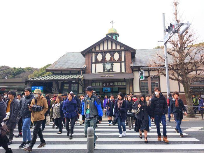 Japan Harajuku Tokyo Street Way Road Ontheway Winter Streetphotography