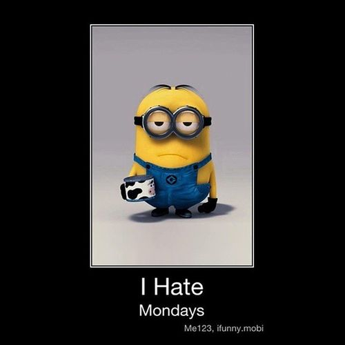 Hatred for Mondays :| Monday Mondaymorningblues Hate Feeling relateit instafunny :P