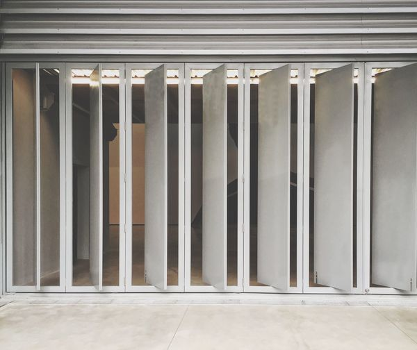 Architecture Built Structure Architectural Column Indoors  No People Building Exterior Doors And Windows Open Diagonal_symmetry Doorway Museum Of Modern Art Chiang Mai | Thailand Minimalist