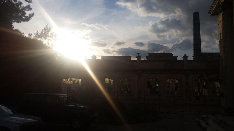 Sunbeam Architecture Greek School Of Art