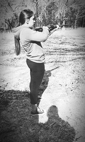 Spent the day shooting guns First Eyeem Photo