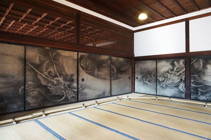 2017 Dragon Japan Kenninji Kyoto Painting Room Temple The Oldest Zen Temple In Kyoto Kenninji Zen 京都 建仁寺 雲龍図