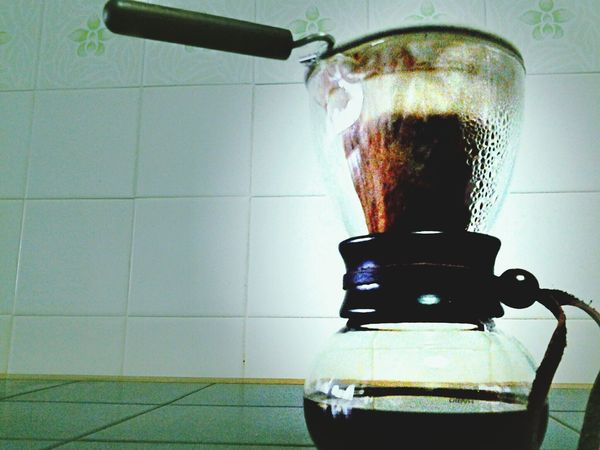Brewing the brew... Coffeetime