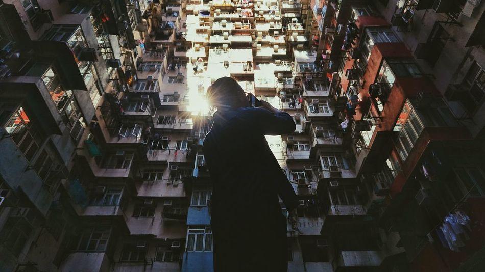 Looking up at Quarry Bay, Hong Kong Hong Kong