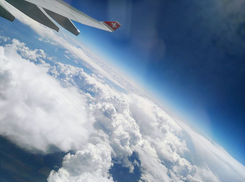 Let's Go. Together. wt Swiss Airlines ! Travel Destinations Planet Earth Aerial View Flying Blue Nature Landscape + Space photographed wt my Huawei G7 Photography ©danielepedone/brucefinestra All Rigths Reserved To Be Continued... In Another World Another Trip ... My Life - Just Now Cheers 🍻