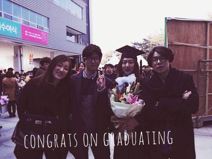 Graduation 졸업식 RAPPSTARR 송지은 졸업식 구긔