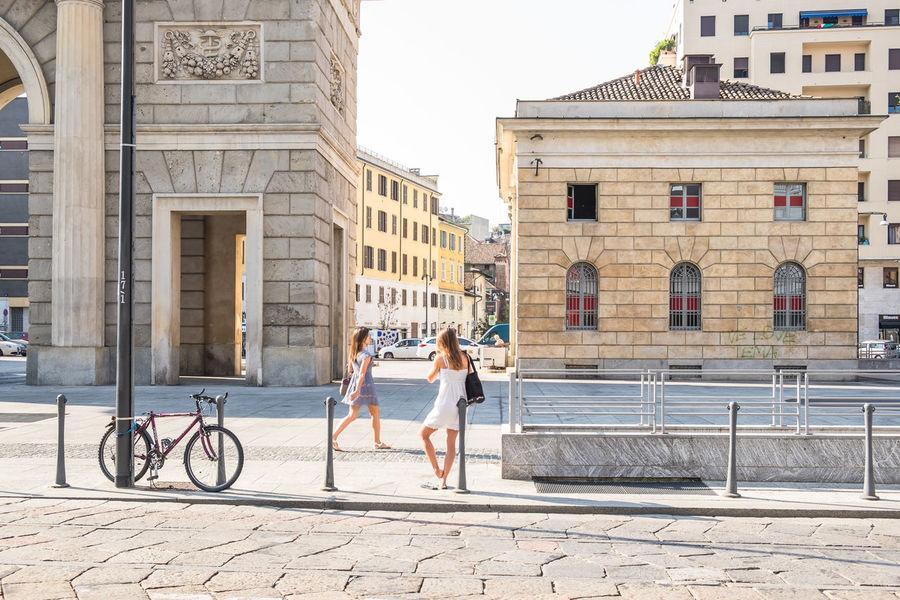 City Life Cityscape Embrace Urban Life Italy Lombardia Milan,Italy Milano