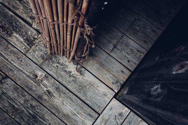 Wooden floor Vintage Indoors  Day Wood Paneling Textured