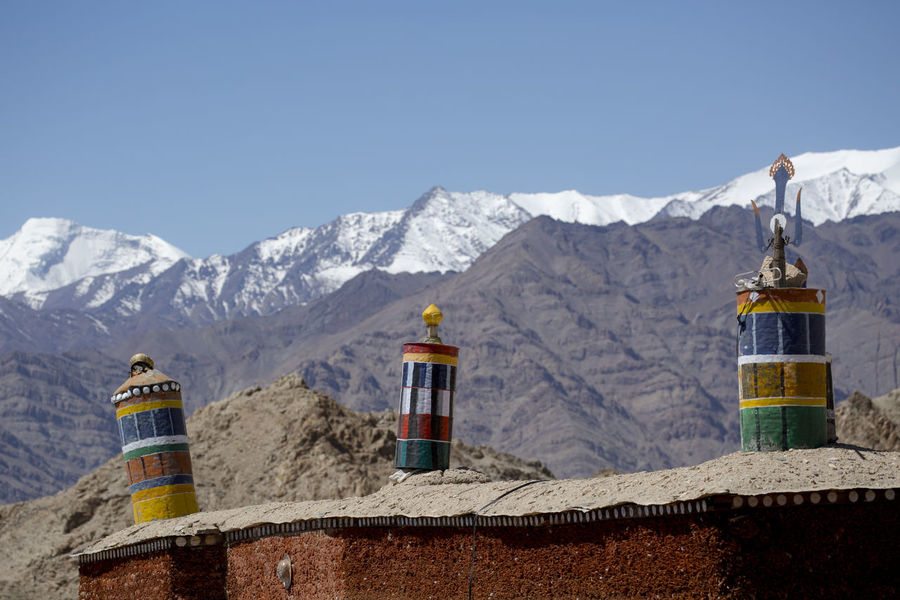 Tibetan prayer scenery Himalaya Range background , Leh-Ladakh, Jammu & Kashmir, Northern India, India Himalaya Himalayan Himalayan Range Leh Ladakh Leh Ladakh.. Mountain Mountain Range Nature Northern India Snow Tibetan  Tibetan Buddhism Tibetan Culture Tibetan Prayer Flags
