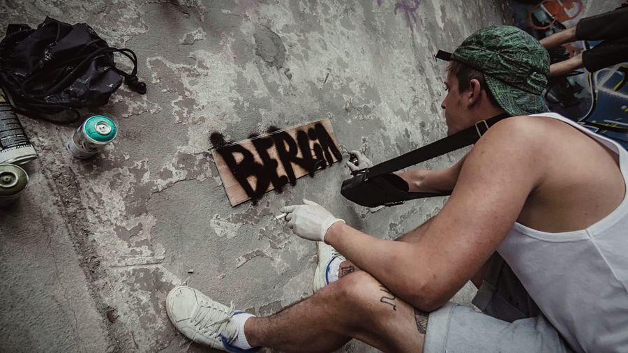 - B E R L I N - My Fuckin Berlin Taking Photos Streetphotography People Streetart Graffiti Urban I Love My City Everybodystreet N \ VEA ★ CREME Things I Like Capture Berlin Discover Berlin