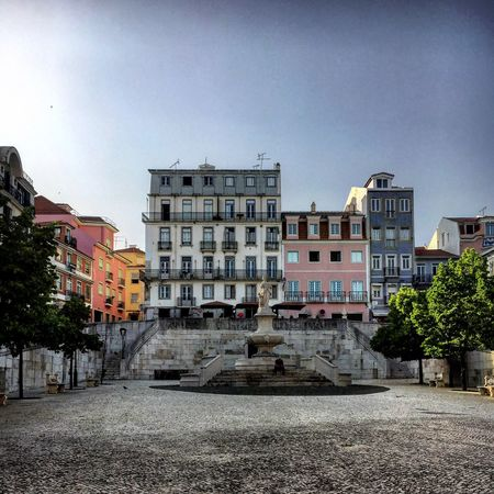 Lisboa Lisbon Portugal Place Buildings Colorful City Cityview Street Streetphotography Silhouette Man Alone End Of The Day Light And Shadow Mmaff From My Point Of View Eye4photography  EyeEm Gallery Taking Photos Hello World Showcase June
