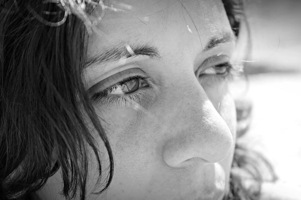 Contemplation Infinito Miradas Adult Adults Only Blancoynegro Close-up Contemplacao Contemplación Day Headshot Human Body Part Human Eye Human Face Indoors  Infinity ∞ Ojos One Person One Woman Only One Young Woman Only Only Women People Portrait Real People Young Adult