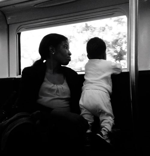 Train Taking Photos Blackandwhite Mother And Son Roma ! Now Eye4photography  @ Ernesto Galizia Contemporary Art EyeEm Best Shots Window
