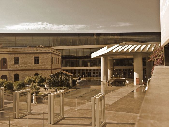 Acropolis Museum in Athens Showmeyoursepia Architecture thank you for the invitation Mit Solunabee