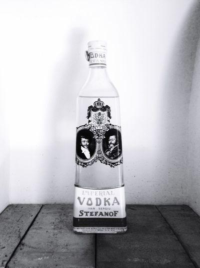 Taking Photos Blackandwhite Vodka Bottle Vintage EyeEm Best Shots @ Ernesto Galizia Contemporary Art Zar