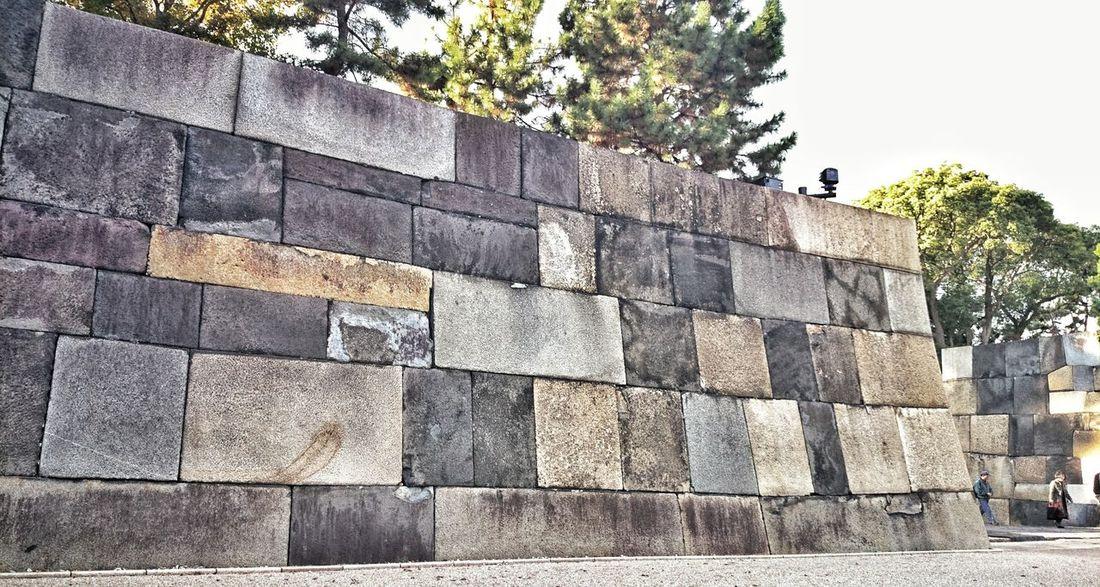大阪城、名古屋城の石垣も見応えあったけども、皇居(江戸城)もやっぱり凄かった! Castle Walls Big Stones Stone Wall