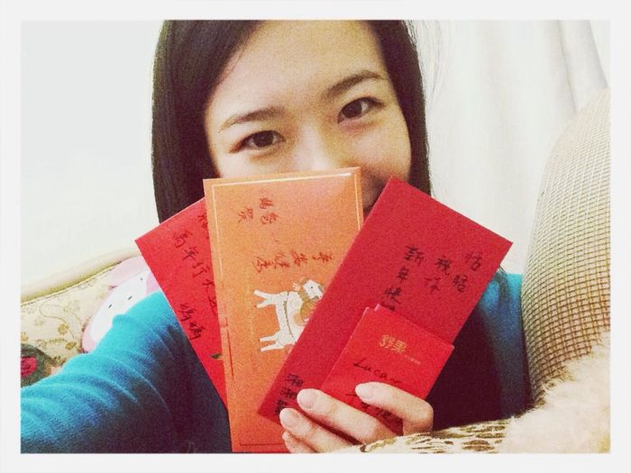 紅包!!✌️~ Chinese New Year 2014