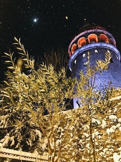 Night Snow VSCO