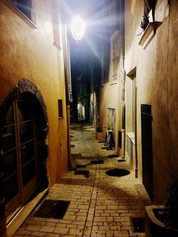 Some night... Vacations City Night Rue Street Streetstyle Saint-Tropez Cute Typical Street