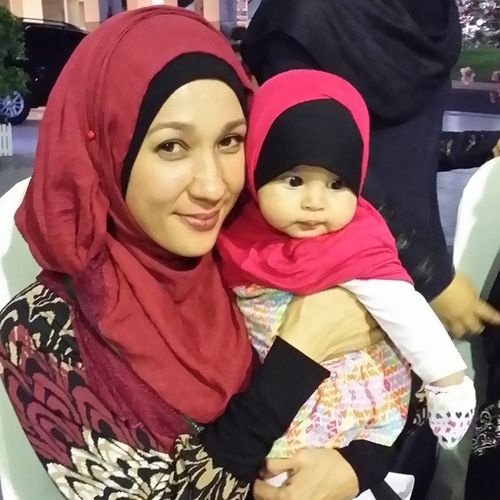 Aishah al Wasoubi bersama Datin Aliyah Lee Selawatperdana