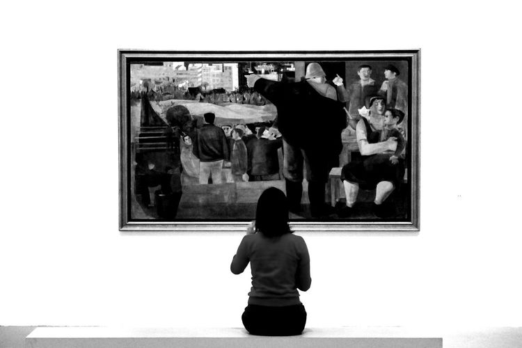Art watching