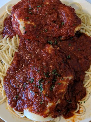 Pasta Pasta Time Pastaporn Chicken Parmesan Spaghetti Spaghetti Sauce Food Food And Drink Ready-to-eat Meat Freshness Homemade Savory Food Serving Size Meal No People Temptation Close-up Gourmet Italian Food Plate