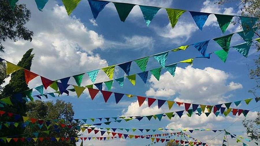 Bunting Bunting Cloudchasing Clouds Cloudporn Instasky Bluesky Dayout Colourful Southafrica Southafricanskies Alwayslookupza Sts2016 Sowingtheseeds Festival Dayfestival OfMonstersAndMen Emmarentia