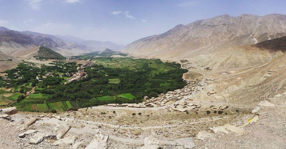 Ait Boughmez Morocco Landscape Mountain Nature Sky Outdoors Plant Lost In The Landscape