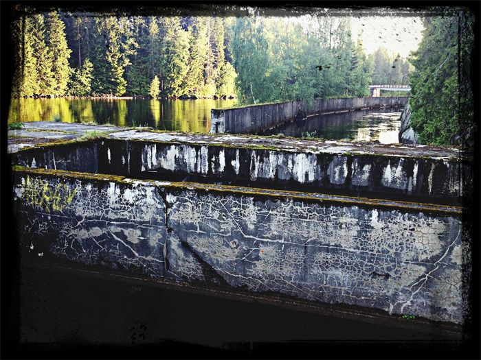 Old Hydro Electric Plant Nedansjö Water