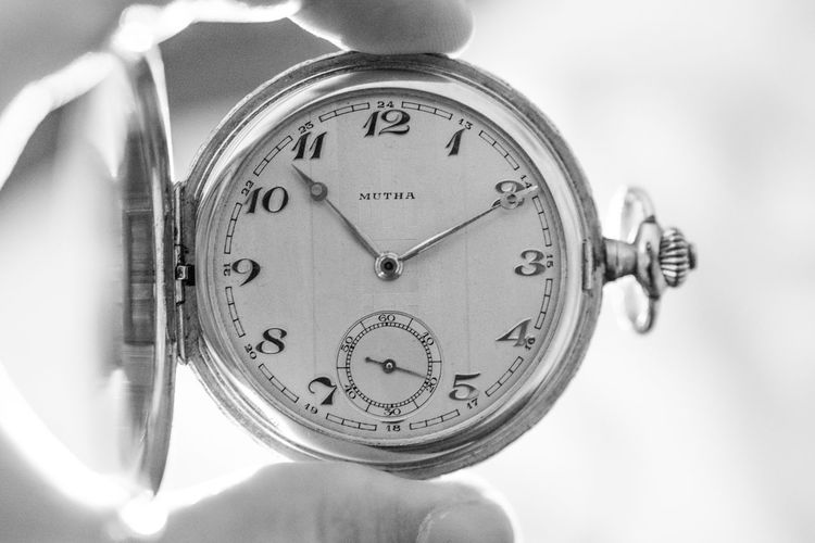 Accuracy Black And White Blackandwhite Bright Clock Clock Face Close-up Deadline Eye4photography  EyeEm Best Shots EyeEm Gallery Holding Hour Hand Human Body Part Human Hand Indoors  Instrument Of Time Light Minute Hand Number People Time Time To Reflect Watch Watchface