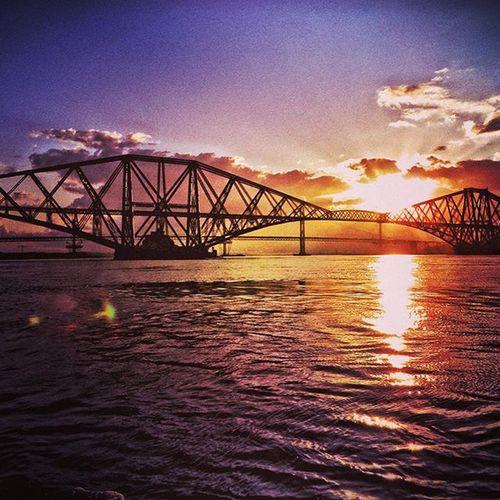 ForthRailBridge Bridges Sunset Scottishsky skyporn Scotland insta_Scotland ig_Scotlandigers_scots Loves_Scotland capturingbritain picoftheday ukpotd traveltheworld igworldclub ig_Europe Eurotravellers Capture The Moment