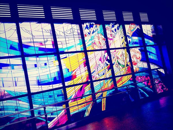 Stained Glass Japan Taking Photos