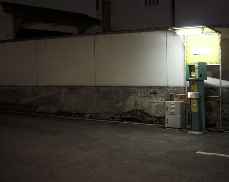 Car Park Empty Space Architecture Basement Building Exterior Built Structure Fuel Pump Gas Station Gasoline Illuminated Indoors  Night No People Parking Garage Refueling Spaces
