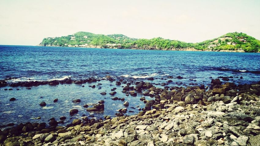 Enjoying The View Beach Relaxing Taking Photos :)