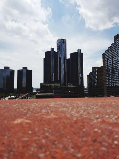 Skyscraper Cityscape Modern City Life Downtown District Outdoors Architecture Urban Skyline DetroitMichigan RenCen